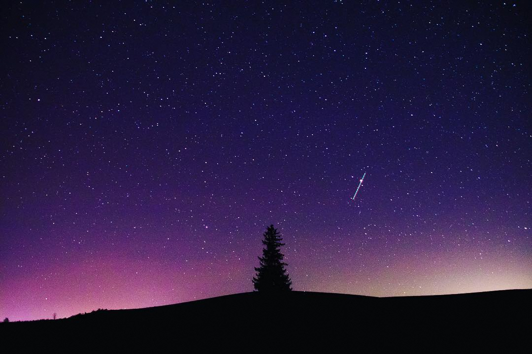 満点の星たち