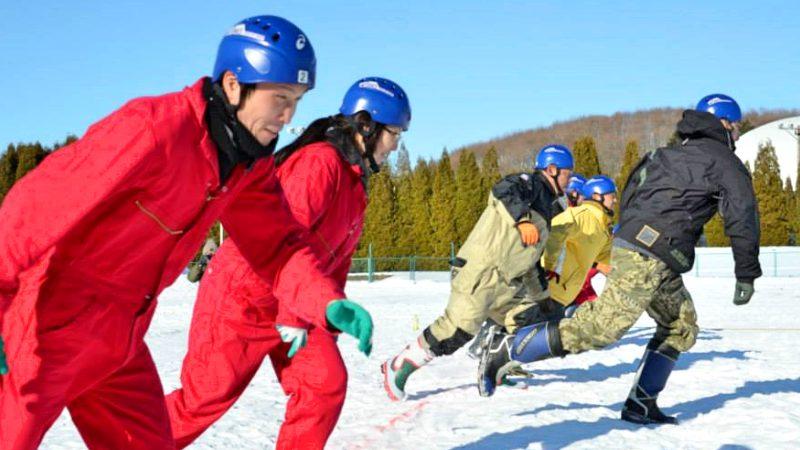 雪上3本引きってどんなスポーツ!? 厚真町発祥の熱いスポーツを間近で観戦しよう!
