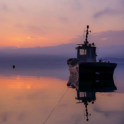 【北海道ミライノート×Domingo】洞爺湖と船 など