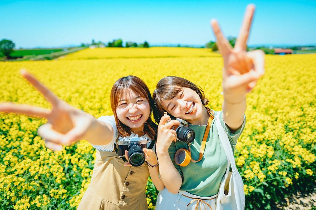 【北海道ミライノート×Domingo】滝川市の菜の花畑 など