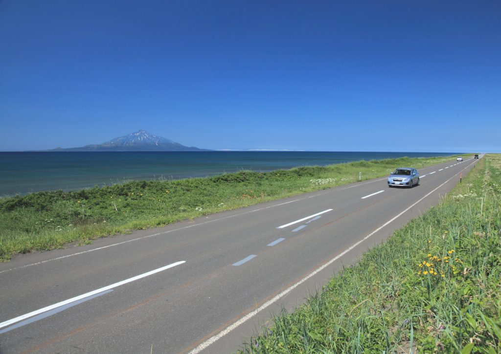 抜海線(オロロンライン)写真