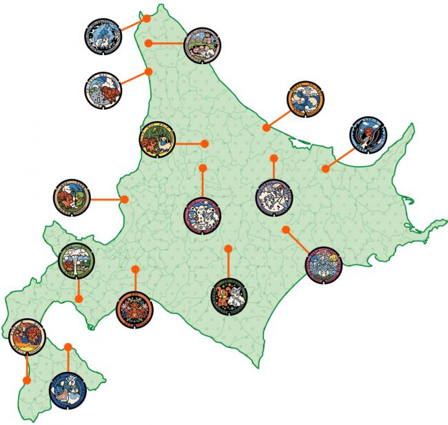 北海道設置場所マップ