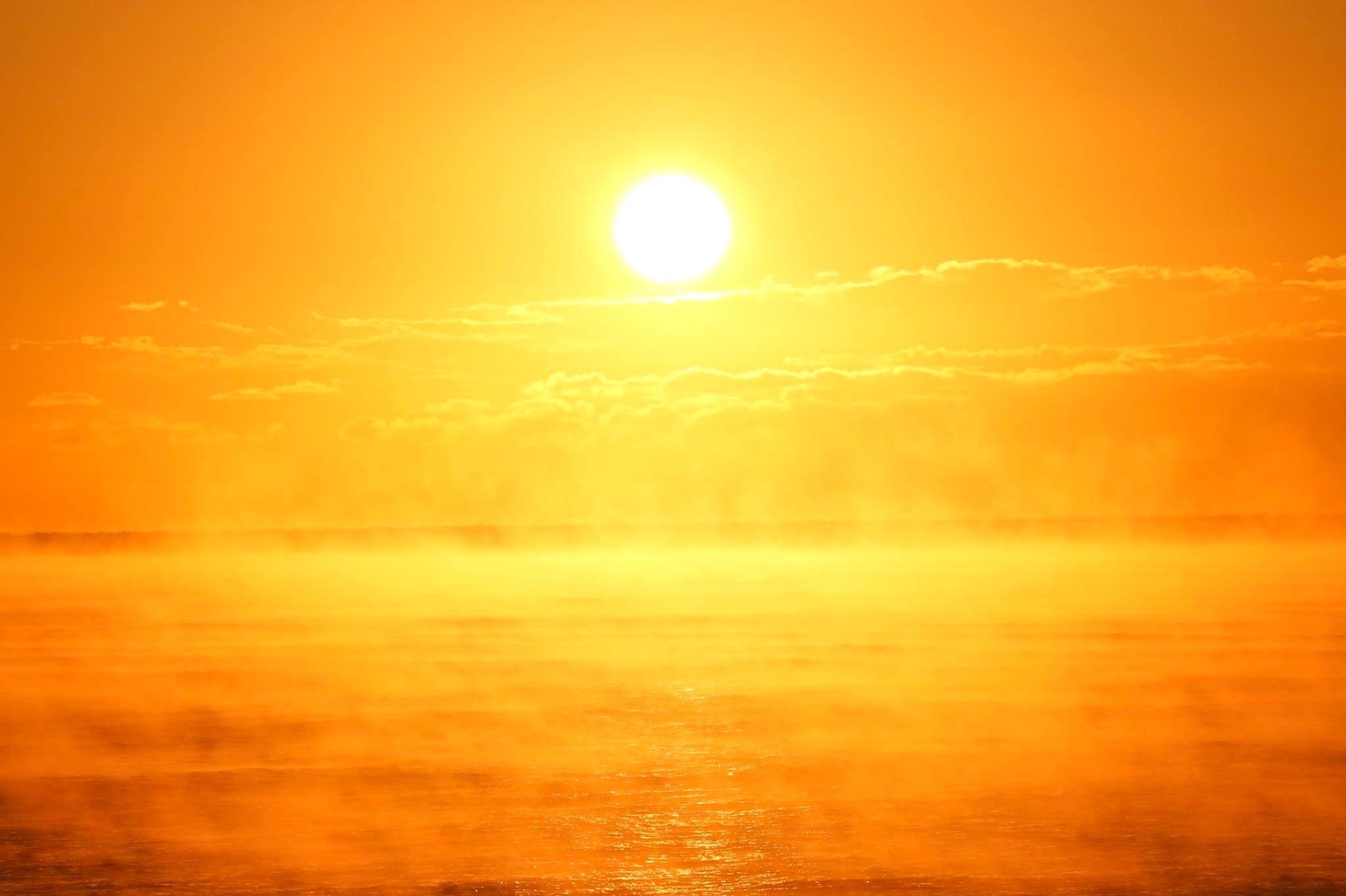 さるふつ公園からの朝陽②