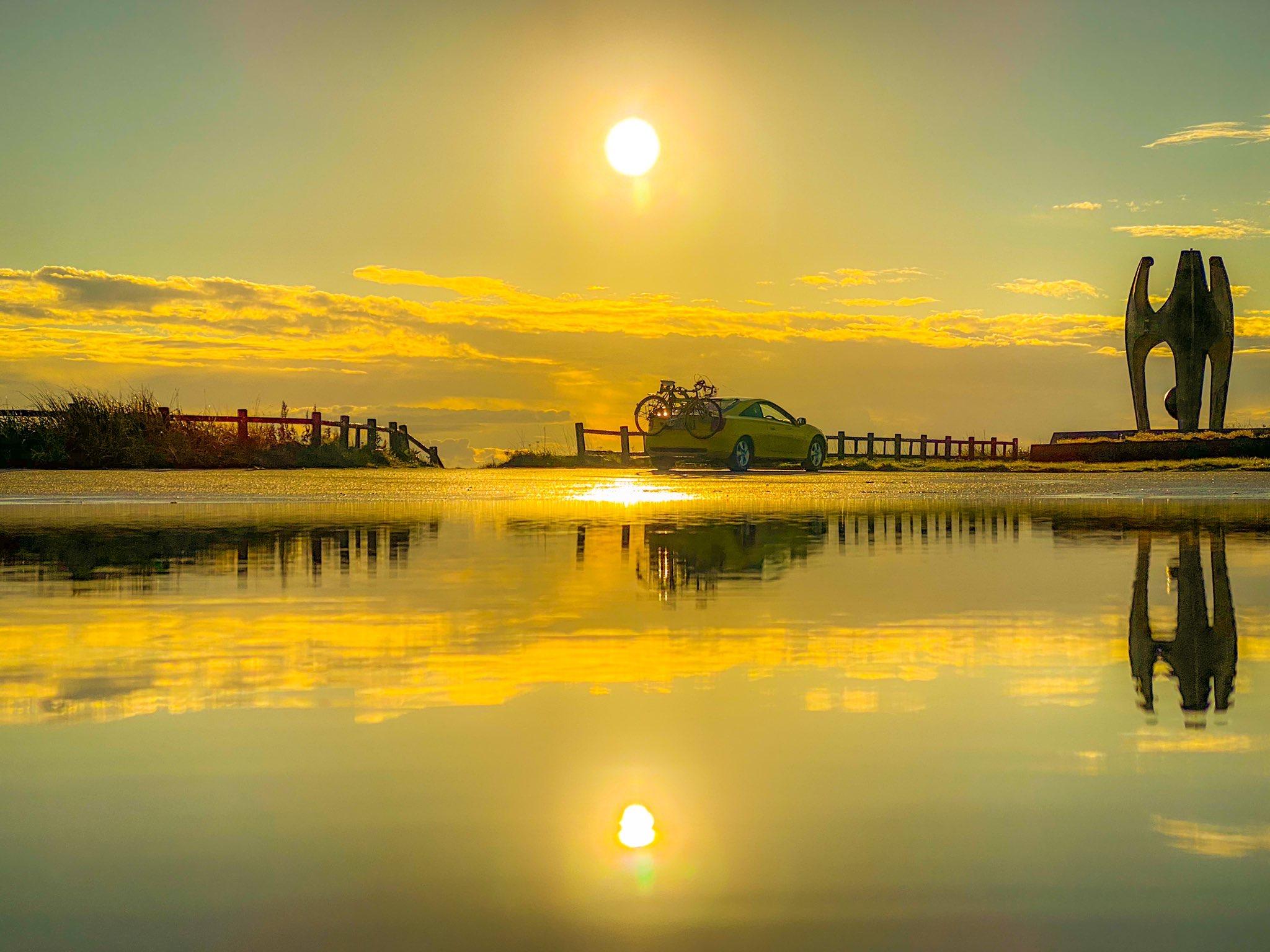 さるふつ公園からの朝陽①