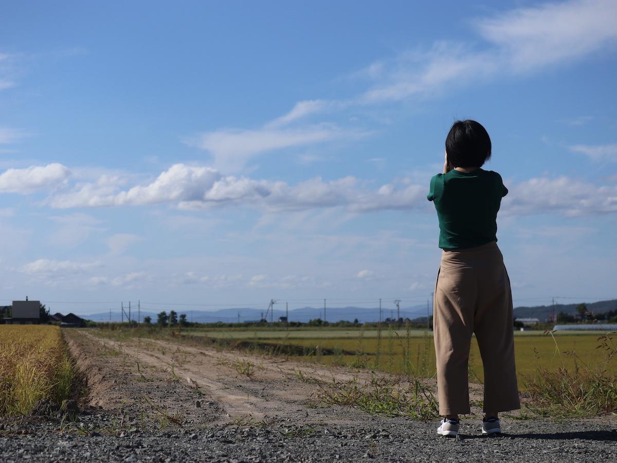 河野さん撮影風景