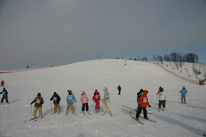日の出スキー場 オープン