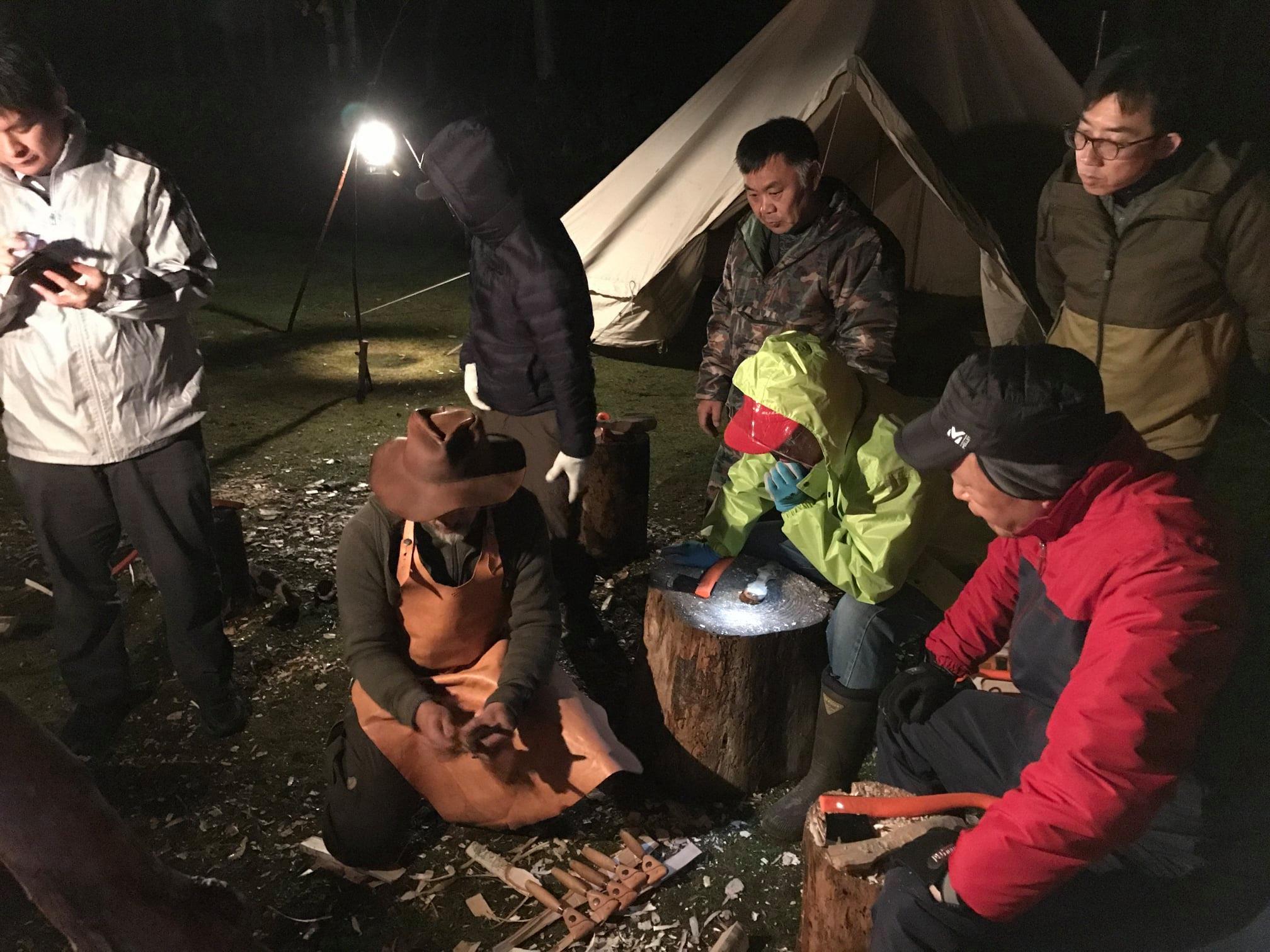 クラフトキャンプ ワークショップ(沼田町まるごと自然体験プロジェクト【北海道沼田町】Facebookより)