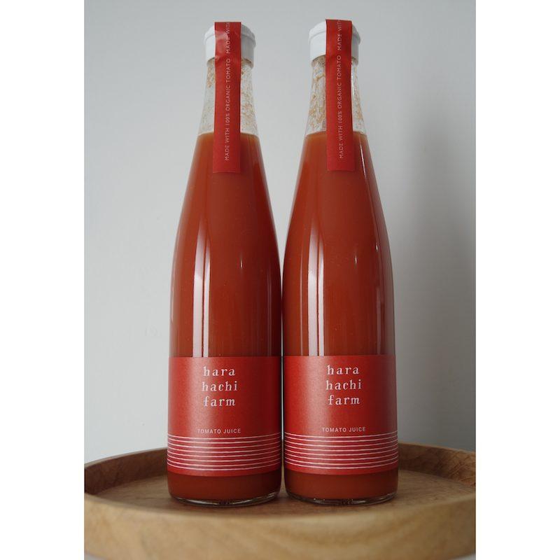 ハラハチファームのトマトジュース